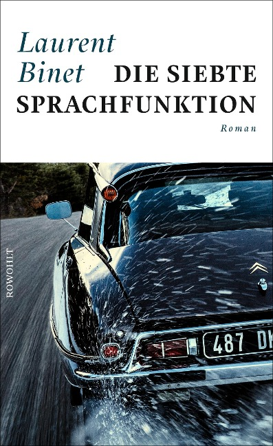 Die siebte Sprachfunktion - Laurent Binet