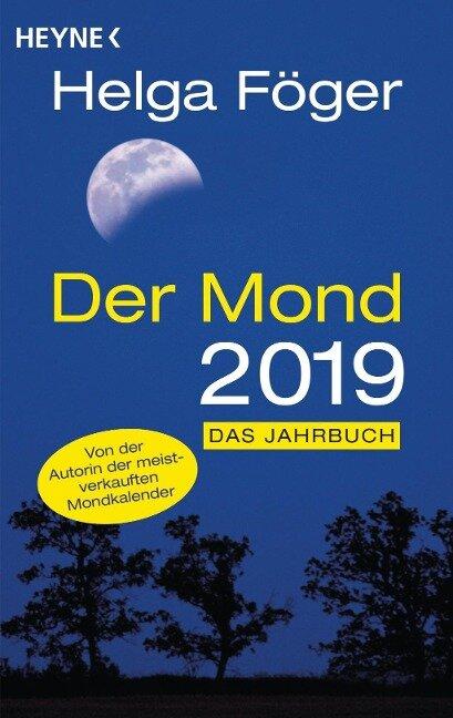 Der Mond 2019 - Helga Föger