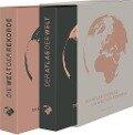 Weltatlas - Der Atlas der Welt, Die Welt der Rekorde - 2 Bände im Geschenkschuber -