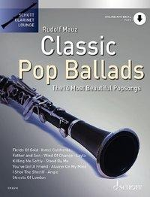 Classic Pop Ballads - Klarinette -