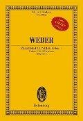 Konzert Nr. 1 f-Moll - Carl Maria von Weber