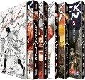 Attack on Titan, Bände 1-5 im Sammelschuber mit Extra - Hajime Isayama