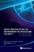 Iaeng Transactions On Engineering Technologies Volume 7 - Special Edition Of The International Multiconference Of Engineers And Computer Scientists 2011 -