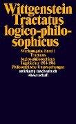 Tractatus logico-philosophicus. Tagebücher 1914 - 1916. Philosophische Untersuchungen - Ludwig Wittgenstein