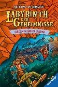 Labyrinth der Geheimnisse, Band 5: Schurkenjagd im Schloss - Matthias Bornstädt