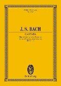 Kantate Nr. 182 (Dominica Palmarum) - Johann Sebastian Bach