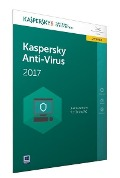Kaspersky Anti-Virus 2017 Upgrade (Code in a Box) (FFP). Für Windows Vista/7/8/8.1/10 -