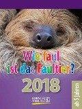 Wie faul ist das Faultier? 2018 -