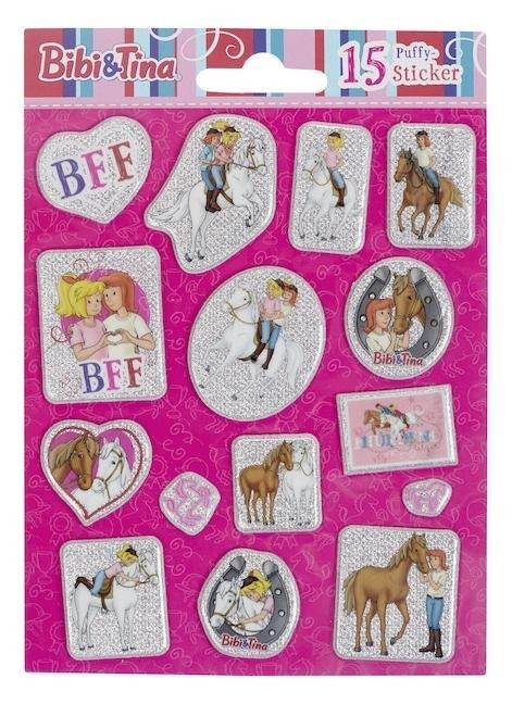 Bibi & Tina: 15 Puffy-Sticker -