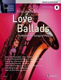 Love Ballads. Tenor-Saxophon. Ausgabe mit CD -