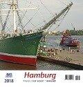 Hamburg 2018 Postkartenkalender -
