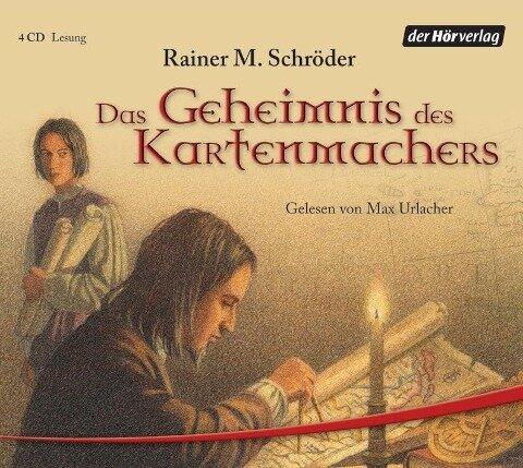 Das Geheimnis des Kartenmachers. 4 CDs - Rainer Maria Schröder