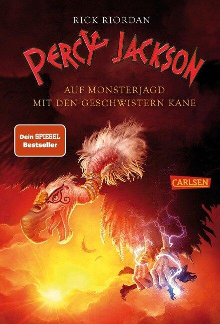 Percy Jackson - Auf Monsterjagd mit den Geschwistern Kane - Rick Riordan