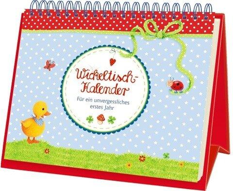 BabyGlück - Wickeltisch-Kalender -