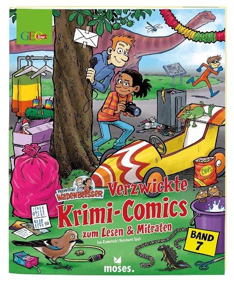 GEOlino Wadenbeißer - Verzwickte Krimi-Comics zum Lesen & Mitraten Band 7 - Ina Rometsch