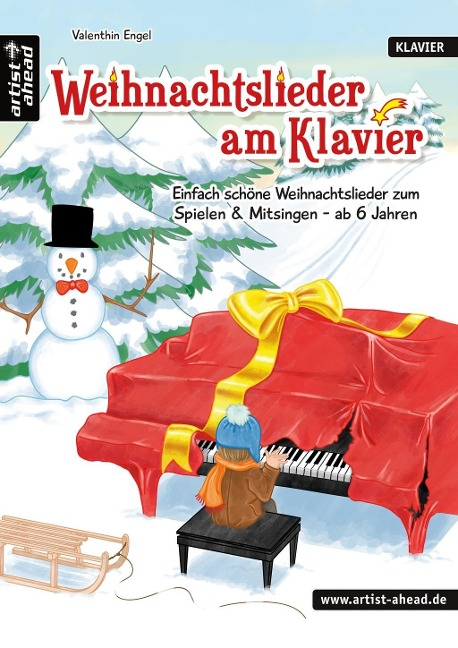 Weihnachtslieder am Klavier - Valenthin Engel