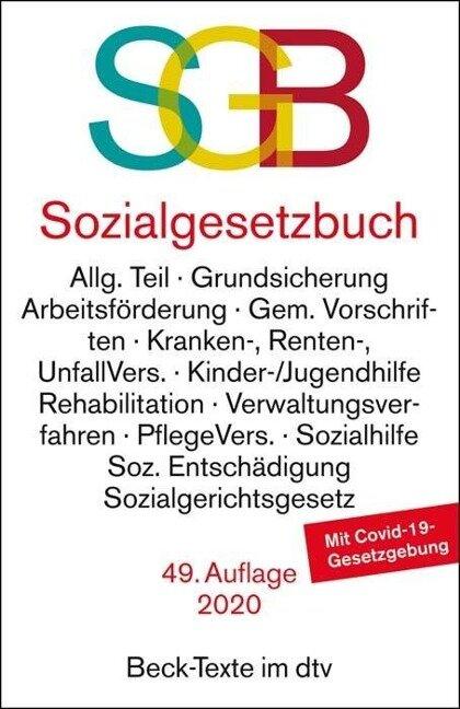 Sozialgesetzbuch, mit Sozialgerichtsgesetz -