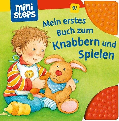 Mein erstes Buch zum Knabbern und Spielen - Sandra Grimm