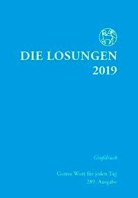 Die Losungen 2019 für Deutschland - Grossdruck, kartoniert -