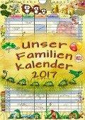 Unser Familienkalender 2017 (Wandkalender 2017 DIN A4 hoch) - Peter Roder