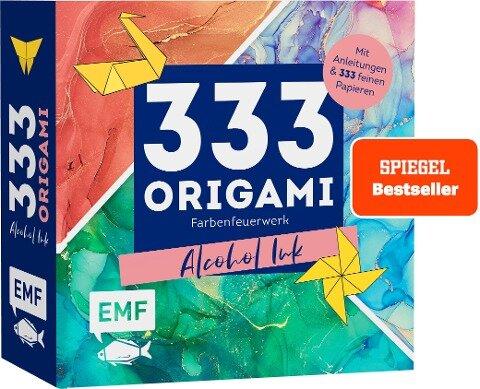 333 Origami -Farbenfeuerwerk: Alcohol Ink -