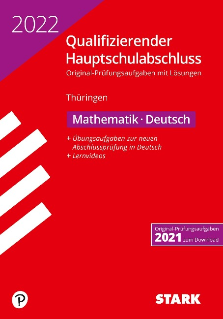STARK Qualifizierender Hauptschulabschluss 2022 - Mathematik, Deutsch - Thüringen -