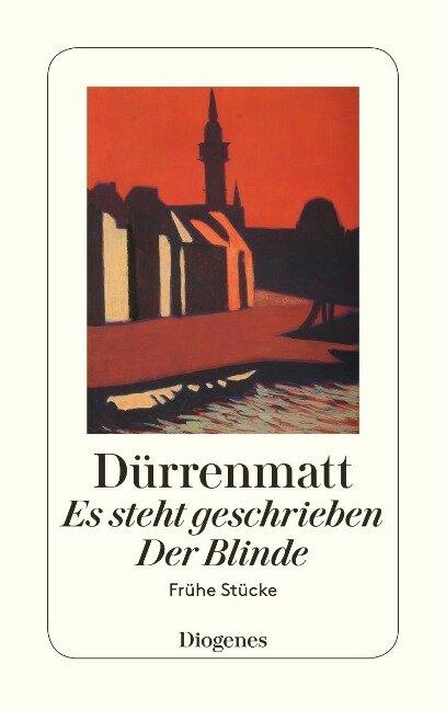 Es steht geschrieben / Der Blinde - Friedrich Dürrenmatt
