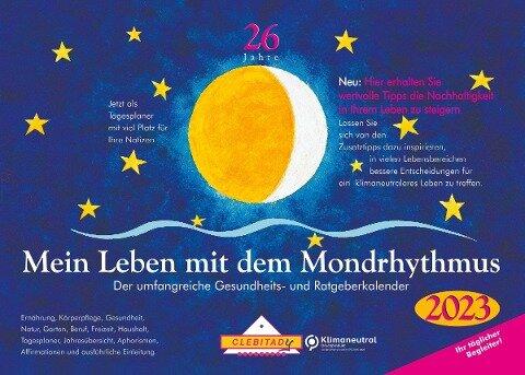 Mein Leben mit dem Mondrhythmus 2021. Taschenkalender - Edith Stadig