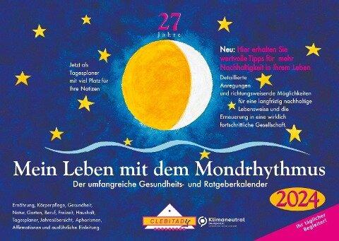 Mein Leben mit dem Mondrhythmus 2022. Taschenkalender - Edith Stadig
