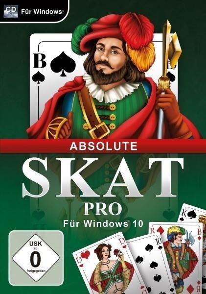 Absolute Skat Pro für Windows 10. Für Windows Vista/7/8/8.1/10 -