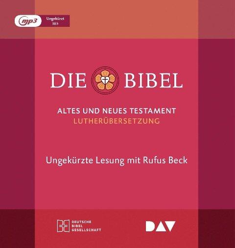 Die Bibel. Gelesen von Rufus Beck -