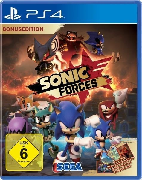 Sonic Forces Bonus Edition (PlayStation PS4) -