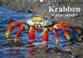 Krabben. Witzige Monster (Wandkalender 2017 DIN A3 quer) - Elisabeth Stanzer
