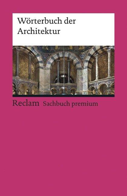 Wörterbuch der Architektur -