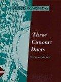 Three Canonic Duets - Gregory W Yasinitsky
