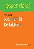 Joomla! für Redakteure - Axel Tüting