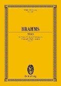 Klaviertrio C-Dur op. 87. Klaviertrio - Johannes Brahms