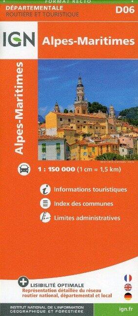Alpes Maritimes 1:150 000 -