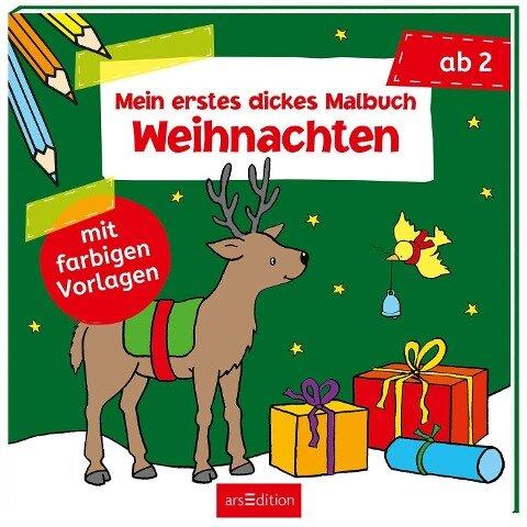 Mein erstes dickes Malbuch Weihnachten -