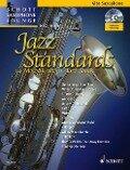 Jazz Standards. Alt-Saxophon. Ausgabe mit CD -