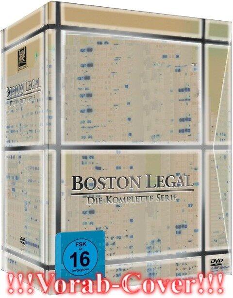 Boston Legal Staffel 1 - 5 - David E. Kelley, Janet Leahy, Michael Reisz, Andrew Kreisberg, Phoef Sutton