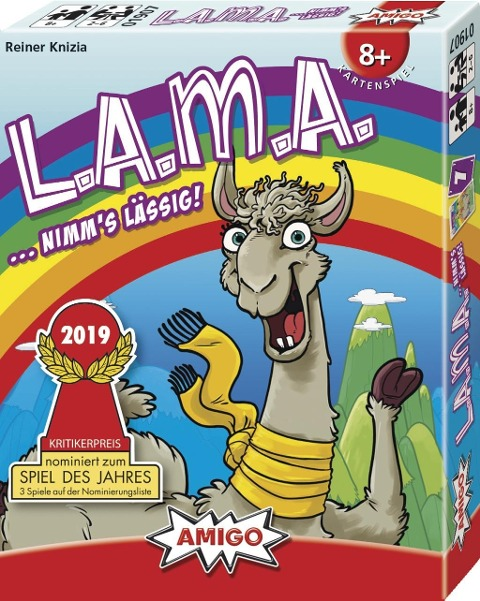 LAMA - Reiner Knizia