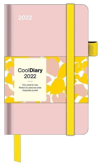 Pastel Pink 2022 - Diary - Buchkalender - Taschenkalender - 9x14 -