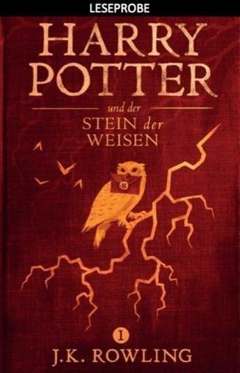 Leseprobe: Harry Potter und der Stein der Weisen - Joanne K. Rowling