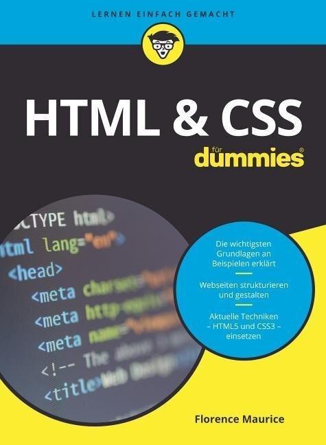 HTML & CSS für Dummies - Florence Maurice