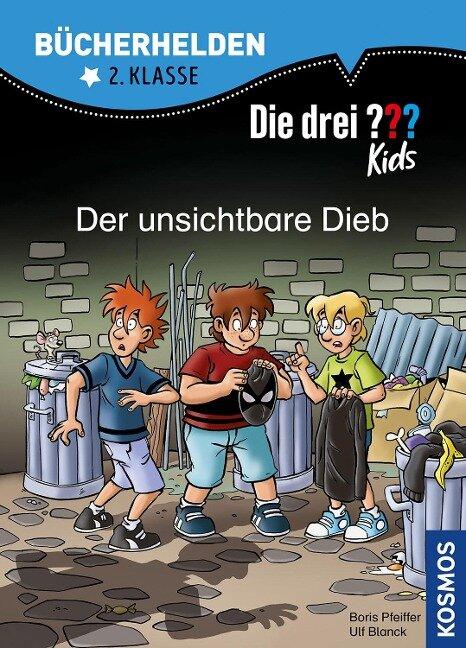 Die drei ??? Kids, Bücherhelden 2. Klasse, Der unsichtbare Dieb - Ulf Blanck, Boris Pfeiffer
