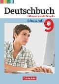 Deutschbuch - Differenzierende Ausgabe 9. Schuljahr - Arbeitsheft mit Lösungen - Friedrich Dick, Agnes Fulde, Marianna Lichtenstein, Toka-Lena Rusnok