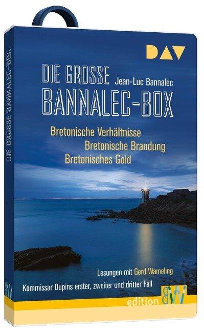 Die große Bannalec-Box. Hörbücher auf USB-Stick - Jean-Luc Bannalec