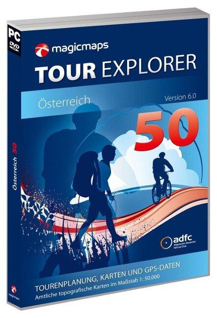 Tour Explorer 50 Österreich, Version 6.0 -