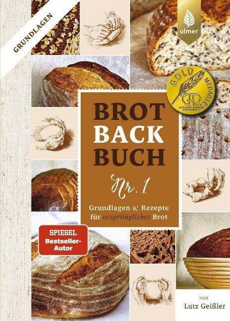 Brotbackbuch Nr. 1 - Lutz Geißler